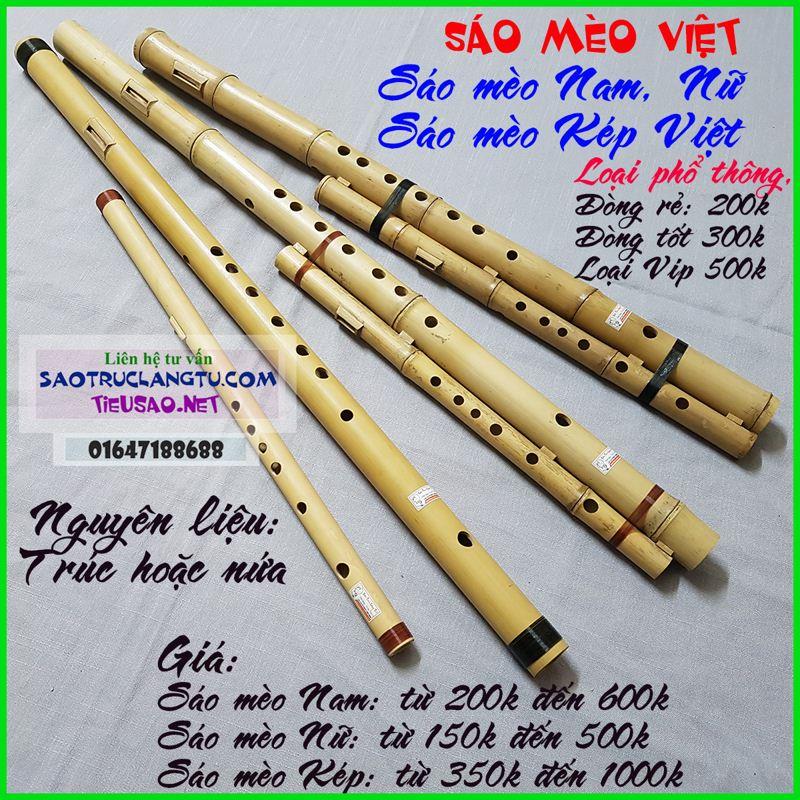 Các loại sáo mèo Việt nam