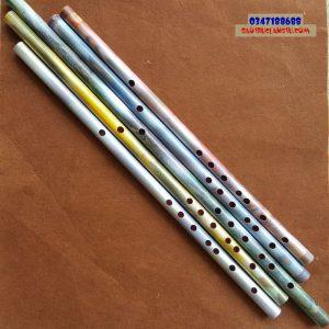 Sáo Ngọc - Sáo giả đá cẩm thạch rêu phong đủ màu sắc